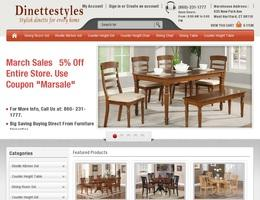 Dinette Styles Is Specialized In Stylish Dining Furniture Sets Tables Chairs Room Counter Height And At Very